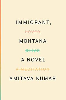 Immigrant, Montana book cover