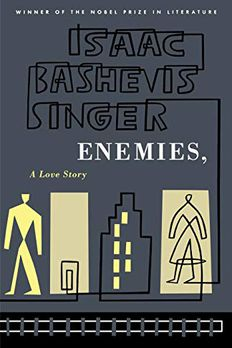 Enemies, A Love Story book cover