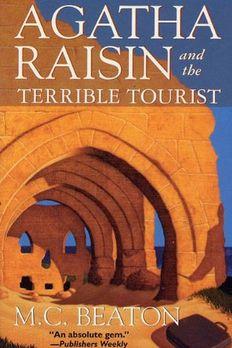 Agatha Raisin and the Terrible Tourist book cover