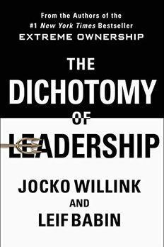 The Dichotomy of Leadership book cover