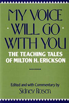 My Voice Will Go with You book cover