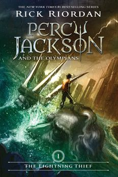 Percy Jackson and the Olympians book cover