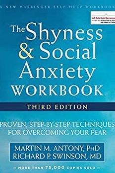 The Shyness and Social Anxiety Workbook book cover
